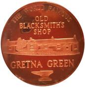 Gretna Green Medal – avers