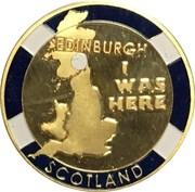 Scottish Tourist Medal – avers