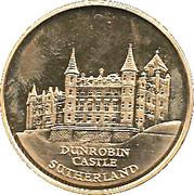 Dunrobin Castle Proof Medallion – avers