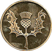Dunrobin Castle Proof Medallion – revers