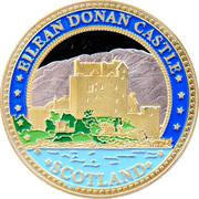 Eilean Donan Castle  - Souvenir Coin – avers