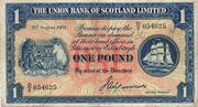 1 Pound - The Union Bank of Scotland Limited – avers