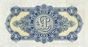 1 Pound (Union Bank of Scotland) – revers