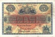 5 Pounds (Union Bank of Scotland) – avers