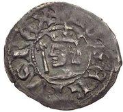 ½ penny Robert II – avers