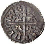 ½ penny Robert II – revers