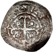 1 penny David I (Period C) – revers