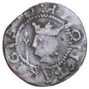 ½ penny David I (1st Coinage, 1st Issue) – avers