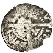 ½ penny John Baliol (2nd monnayage) – revers