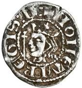 1 farthing David II (1st monnayage, 1st Issue) – avers