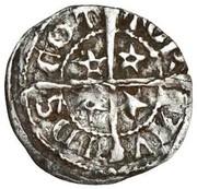 1 farthing David II (1st monnayage, 1st Issue) – revers