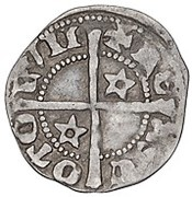 ½ penny David II (1st Coinage, 1st Issue) – revers