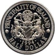 ½ dollar - Roy I (Orca) – avers