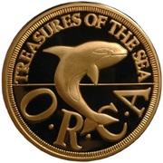 2½ dollars - Roy I (Orca) – revers