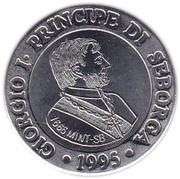 15 centesimi Giorgio Ier – avers