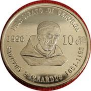 10 Centesimi - Giorgio I – avers