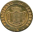 1 Luigino - Giorgio I – revers