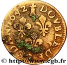 Double-Tournois de Sedan Frédéric-Maurice de la Tour d'Auvergne (Type 15) – revers
