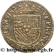 Liard - Henri de la Tour d'Auvergne (Principauté de Sedan) – revers