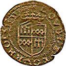 Double-Tournois Guillaume-Robert de la Marck (Type 1) – revers