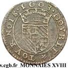 Double-Tournois Henri de la Tour d'Auvergne (Type 4) – revers