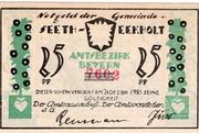 25 Pfennig (Seeth-Ekholt) – avers