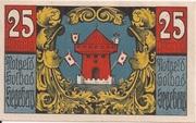 25 Pfennig (Segeberg; Spar- und Leihkasse der Stadt) – revers