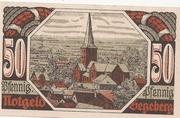 50 Pfennig (Segeberg; Spar- und Leihkasse der Stadt) – revers