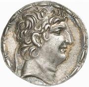 Tetradrachm - Antiochos VIII Epihpanes Grypos (Seleucia ad Calycadnum) – avers