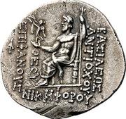 Tetradrachm - Antiochos IV Epiphanes – revers