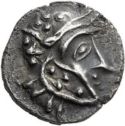 Drachm - Antiochos I Soter (Uncertain mint in Drangiana) – avers