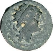 Chalkous - Antiochus IV Epiphanes (Samaria) – avers