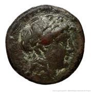 Dichalque d'Antiochos II Theos – avers