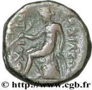 Dichalque de Antiochos III le Grand – revers