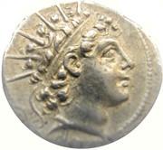 Drachm - Antiochos VI Dionysos, Antioch – avers