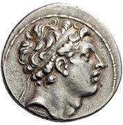 Tetradrachm - Antiochos IV Epiphanes (Antiochia ad Orentem) – avers