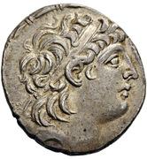 Tetradrachm - Antiochos VIII Grypos (Ake-Ptolemais) – avers