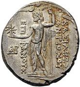 Tetradrachm - Antiochos VIII Grypos (Ake-Ptolemais) – revers