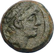 Chalque de Antiochos IX – avers