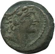Antiochos VIII Grypos - AE19 Hemiobol – avers