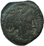 Dichalkon - Seleukos I Nikator - Athena Promachos – avers