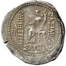 Tetradrachm - Demetrius I Soter - 161-150 BC (Satrap of Seleucia - Basileus of the Seleucid Empire) – revers