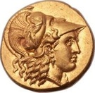 Stater - Seleucus I Nicator - 320/306-281 BC ( Satrap of Babylon - Basileus of the Seleucid Empire) – avers