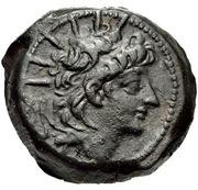 Bronze Æ21 - Alexandre II Zabinas – avers