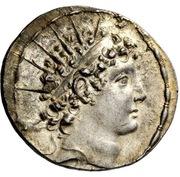 Tetradrachm - Antiochos VI Dionysos (Antioch) – avers