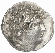 Drachm - Tryphon (Antioch) – avers