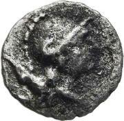 Trihemibol - Pisidia, Selge (Gorgoneion/Athena) – revers