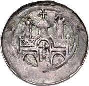1 Pfennig - Heinrich VI. – revers