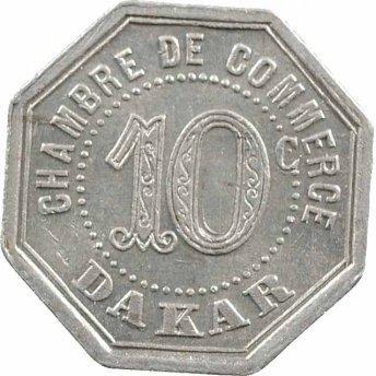 10 centimes chambre de commerce dakar s n gal numista for Chambre de commerce de dakar