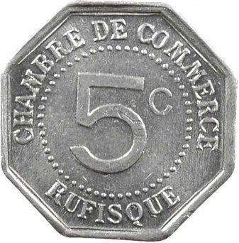 5 centimes chambre de commerce rufisque s n gal numista for Chambre de commerce de dakar